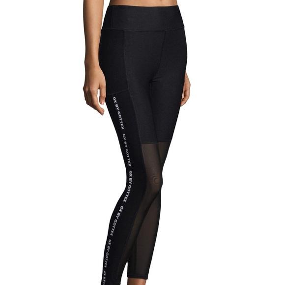 c9f7b358d9fe7 x by gottex Pants | Nwt Black Workout Leggings With Mesh | Poshmark